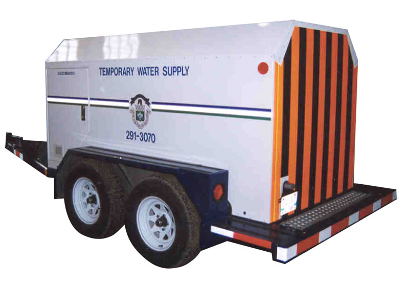 City of Winnipeg, Emergency Water Trailers