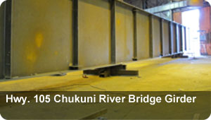 Hwy 105 Chukuni River Bridge Girder