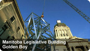 Manitoba Legislative Building Golden Boy