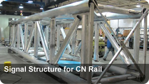 Signal Structure for CN Rail