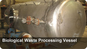Biological Waste Processing Vessel