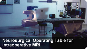 Neurosurgical Operating Table for Intraoperative MRI