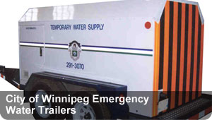 City of Winnipeg - Emergency Water Trailers
